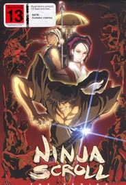 Ninja Scroll Vol. 1:  Dragon Stone + Collector's Box on DVD image