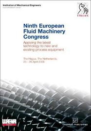 Ninth European Fluid Machinery Congress by Institution of Mechanical Engineers image