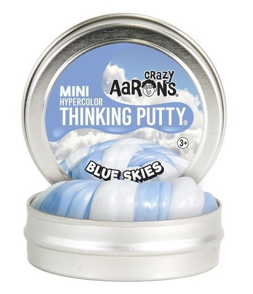 Crazy Aarons Thinking Putty: Blue Skies - Mini Tin