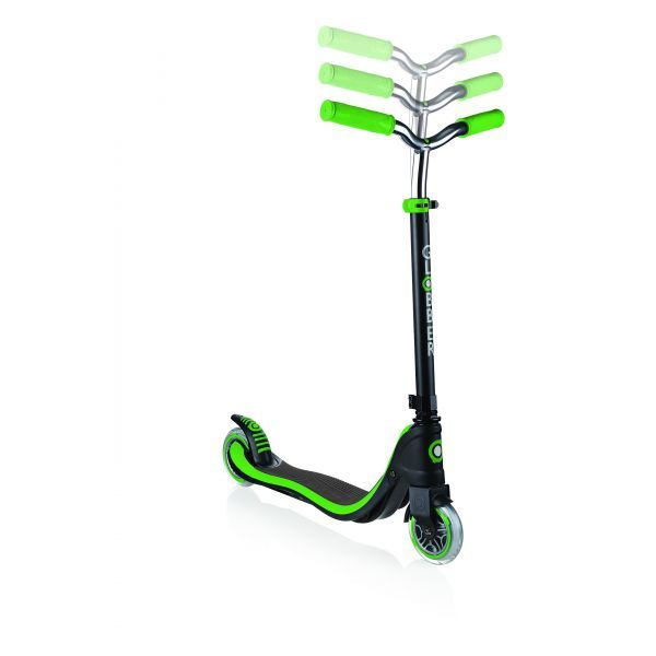 Globber: Flow 125 Scooter - Black/Green