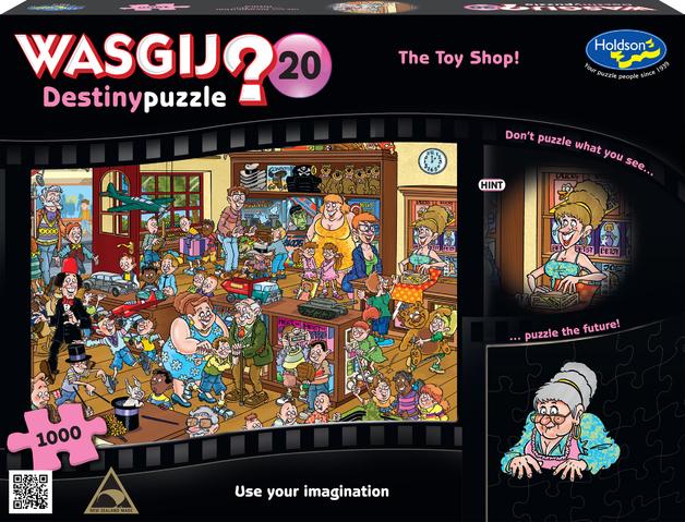 Wasgij: 1000 Piece Puzzle - Destiny #20 (The Toy Shop)