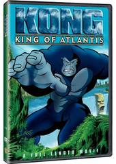 Kong: King Of Atlantis on DVD