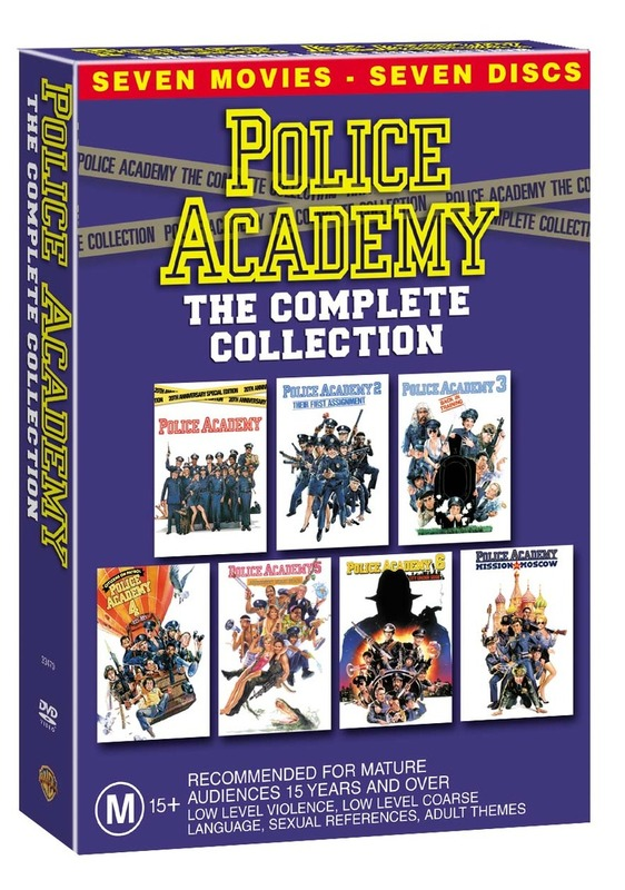 Police Academy: The Complete Collection (7 Disc Box Set) on DVD