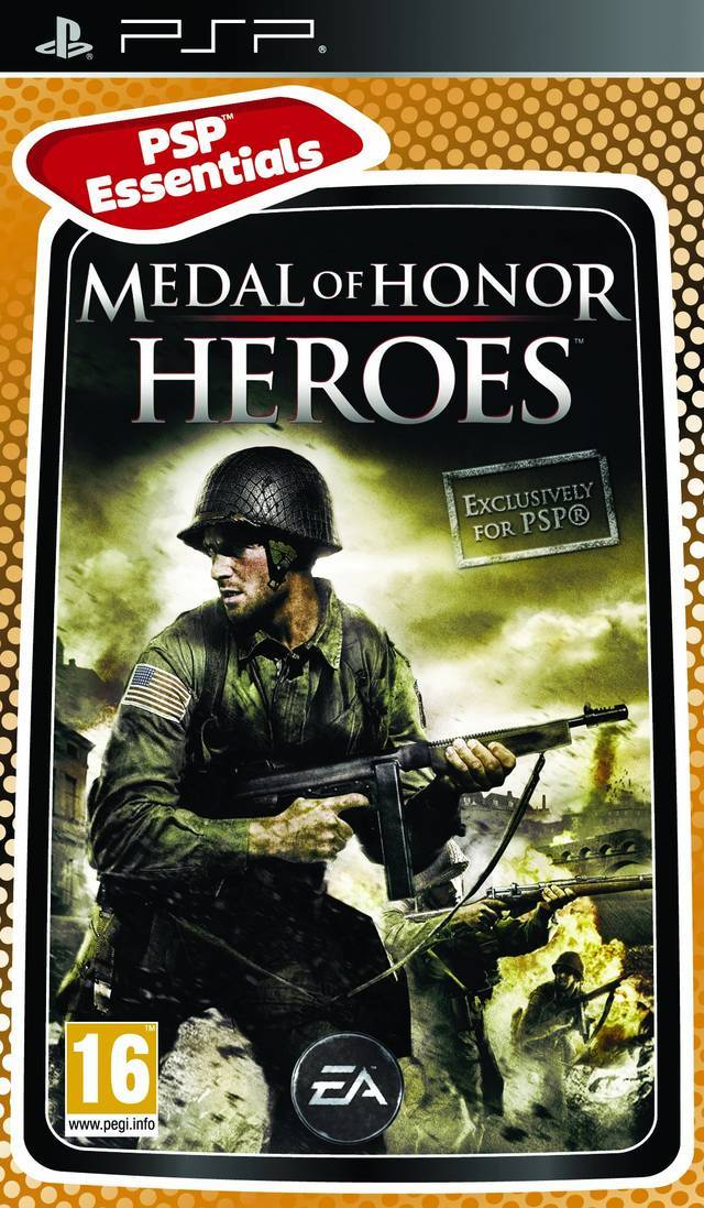 Medal of Honor Heroes (Essentials) for PSP image