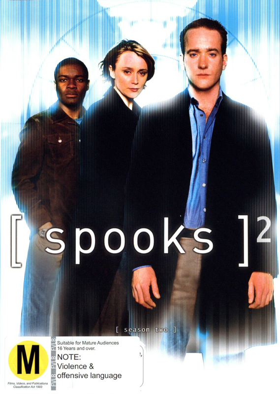 Spooks - Season 2 (5 Disc Set) on DVD