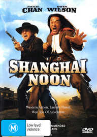 Shanghai Noon DVD image