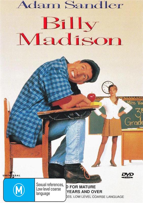 Billy Madison on DVD