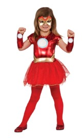 Marvel Iron Man Rescue Girls Costume (Medium)