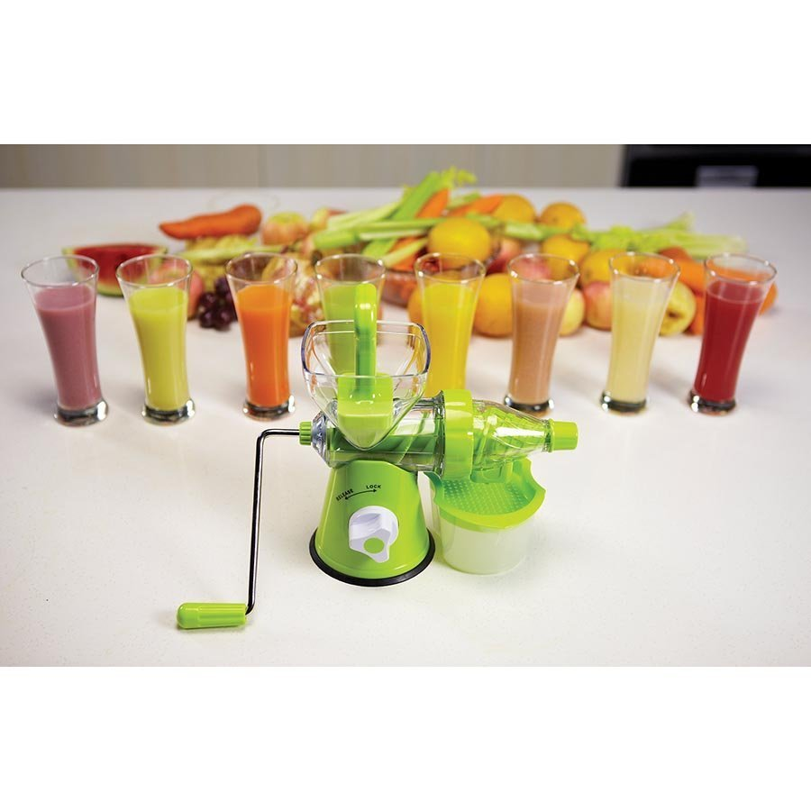 Cold Press Juicer For Leafy Greens : Juice It Cold Pressed Juicer (Green) Images at Mighty Ape NZ