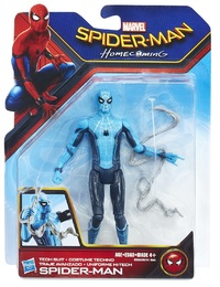 "Spiderman Homecoming: Spider-Man (Tech Suit) - 6"" Action Figure"