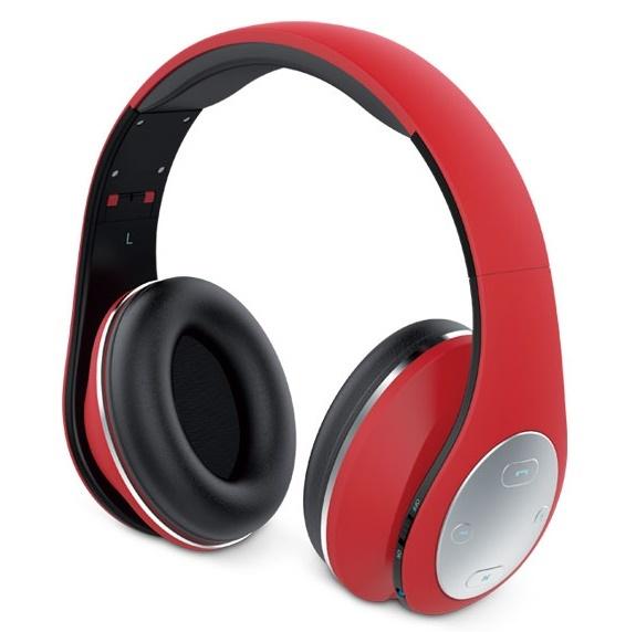 Genius HS-935BT Bluetooth Headphones Red image