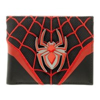 Marvel Spiderman Layered Materials Bifold Wallet