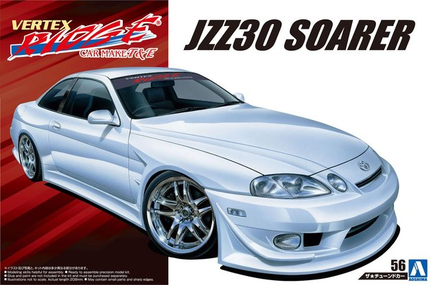 1/24 Toyota Vertex JZZ30 Soarer '96 - Model Kit | at Mighty Ape NZ