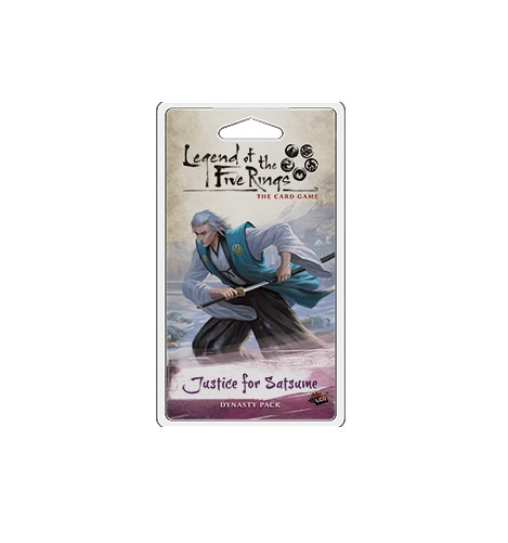 Legend of the Five Rings LCG: Justice for Satsume - Dynasty Expansion