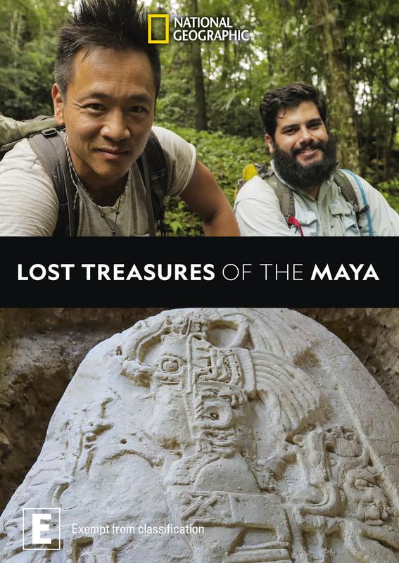 Lost Treasures of The Maya on DVD