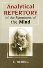 Analytical Repertory of the Symptoms of the Mind by Constantine Hering image