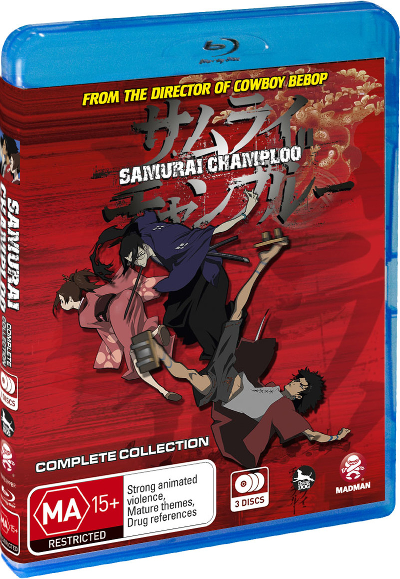 Samurai Champloo - Complete Collection (3 Disc Set) on Blu-ray image