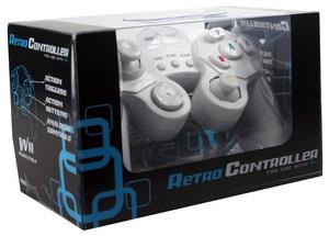 Powerwave Nintendo Wii Retro Controller (White) for Nintendo Wii