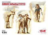 ICM: 1/35 ANZAC Infantry (1915) Model Kit