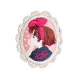 Studio Ghibli Brooch Cameo: Kiki's Delivery Service Kiki