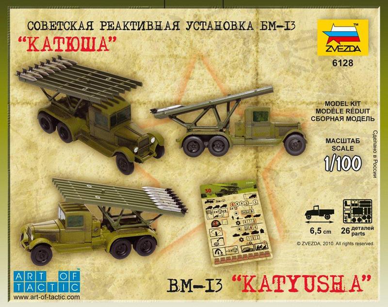 Zvezda: 1/100 Soviet BM-13