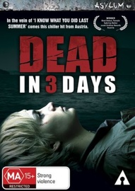 Dead in 3 Days on DVD image
