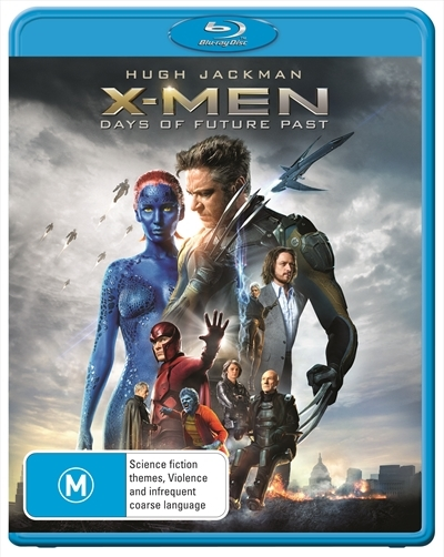 X-Men: Days of Future Past on Blu-ray, UV image