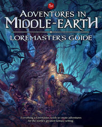 Dungeons & Dragons RPG: Adventures in Middle-Earth - Loremaster`s Guide