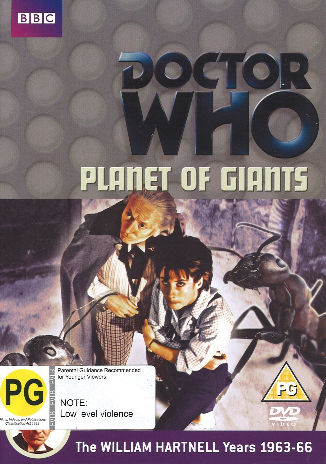 Doctor Who: Planet of Giants on DVD image