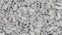 1:48 bricks (RF) grey mix (1,000 pcs.) image