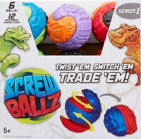 Screw Ballz - Custom Character Ball (Assorted Designs)