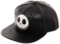 Nightmare Before Christmas Jack Sculpted Metal Snapback Cap