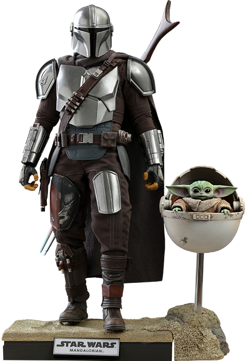 """Star Wars: The Mandalorian & The Child (Deluxe) - 12"""" Articulated Figure Set"""