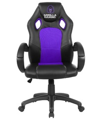 Gorilla Gaming Chair - Purple & Black for
