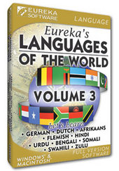 Eureka's Languages of the World Volume 3 for PC Games