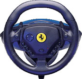 Enzo Ferrari Force GT Wheel for PS2