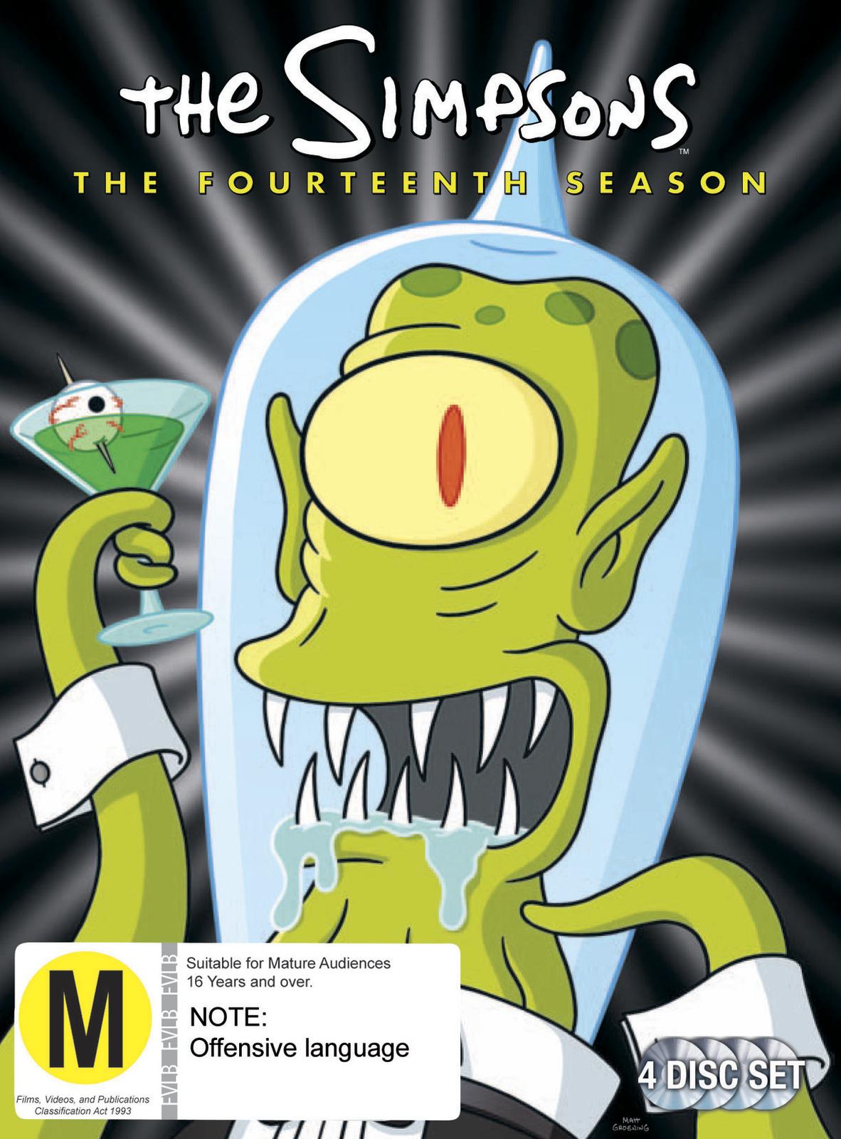 The Simpsons - Season 14 on DVD image