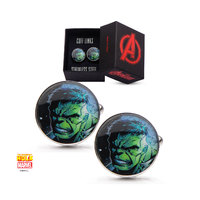 Marvel: Hulk Face Men's Cufflinks