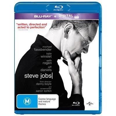 Steve Jobs on Blu-ray image