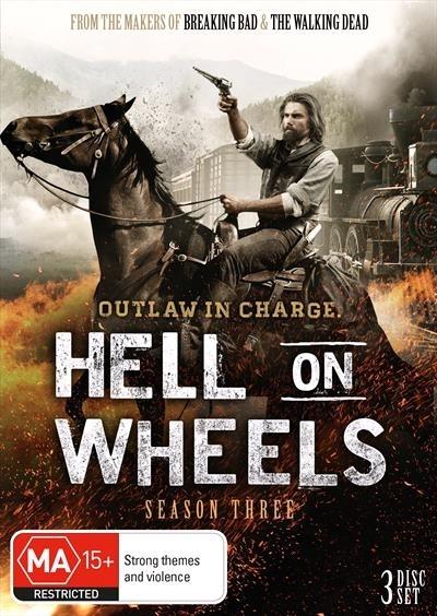 Hell On Wheels - Season Three (3DVD) on DVD
