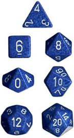 Chessex Speckled Polyhedral Dice Set - Water