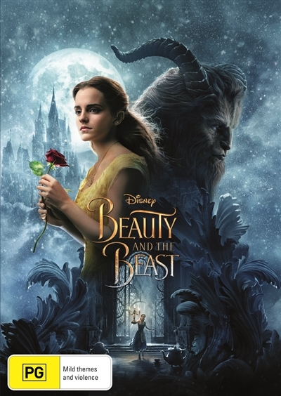 Beauty And The Beast (2017) on DVD image