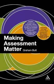 Making Assessment Matter by Graham Butt image