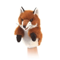 Folkmanis Hand Puppet - Little Fox image
