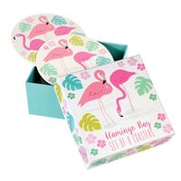 Rex: Flamingo Bay - Coaster Set (Set of 8)