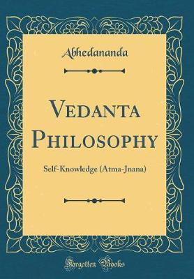 Vedanta Philosophy by Abhedananda Abhedananda
