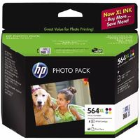 HP 564XL Photo Paper Value Pack CMYK 4x6 60sheet image