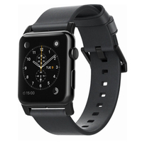 Horween Leather Strap for Apple Watch 42mm - Slate Grey