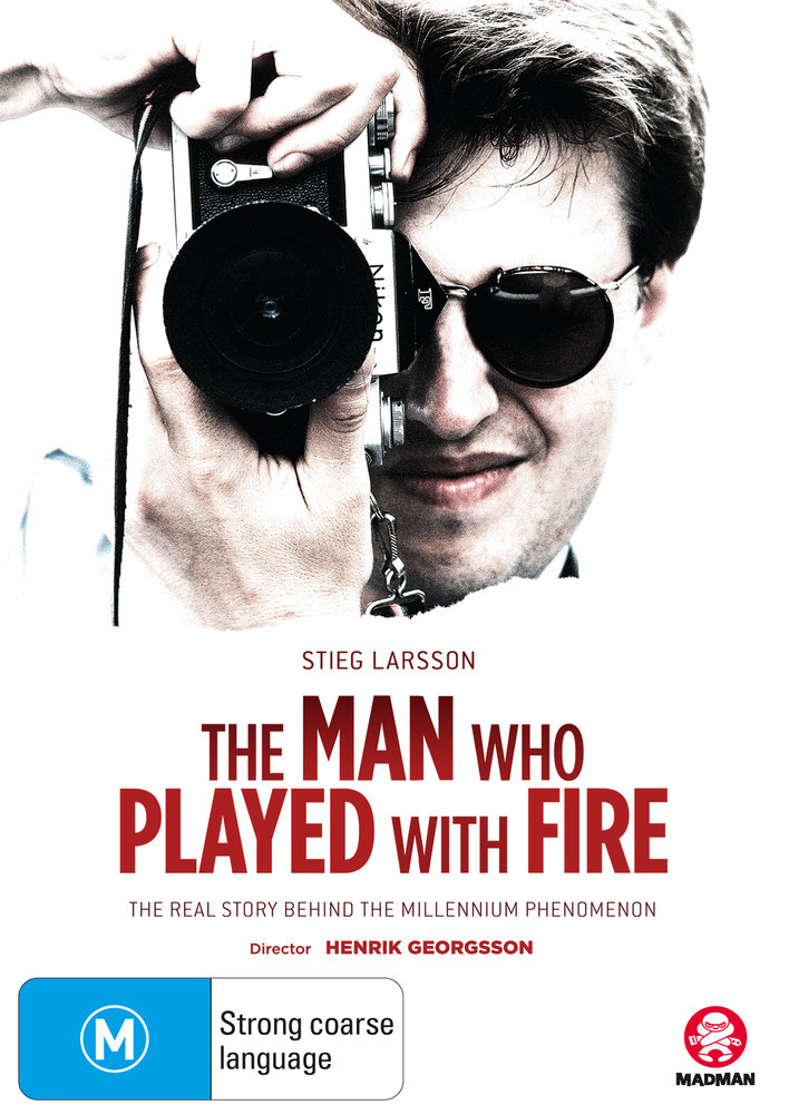 Stieg Larsson: The Man Who Played With Fire on DVD image