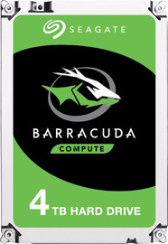 "4TB Seagate BarraCuda 3.5"" 5400RPM SATA HDD"